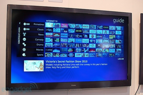 Windows 7 Media Center embedded TV