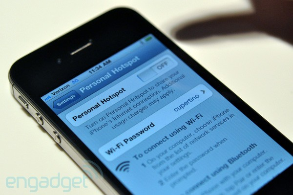 Researchers able to predict iOS-generated hotspot passwords, takes under a minute