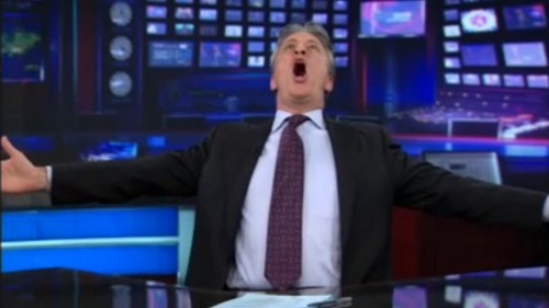 The Daily Show reacts to Verizon iPhone announcement, Jon Stewart gets a little excited (video)