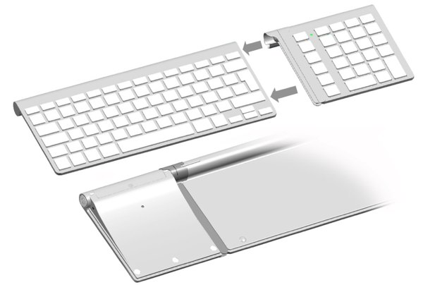 Cropmark's LMP Bluetooth Keypad is now ready to mate with your Apple Wireless Keyboard
