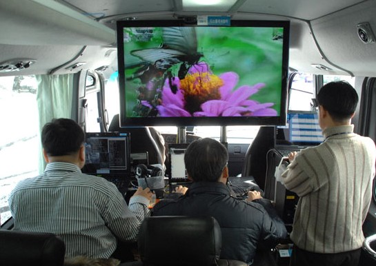 Korean researchers demonstrate LTE-Advanced in a bitching RV, score 600Mbps downloads