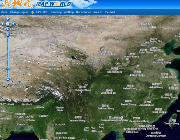 China's Map World is what happens when Google Maps goes socialist
