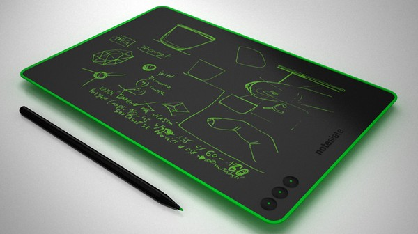 $99 concept NoteSlate tablet does electronic ink in color, but only one at a time