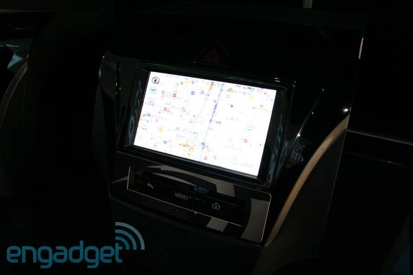 NVIDIA and FujitsuTEN's Android Car Nav hands-on (video)
