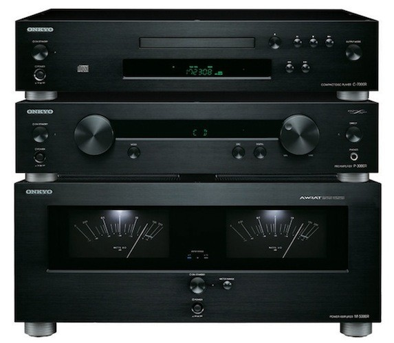 Onkyo elite hi-fi separate components