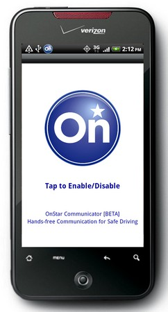 OnStar Bluetooth Voice App