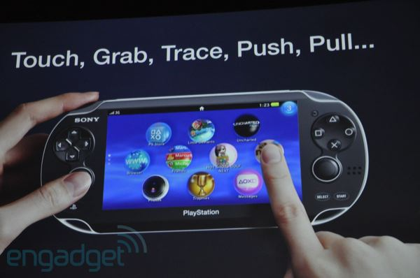The Sony PSP2, codenamed NGP