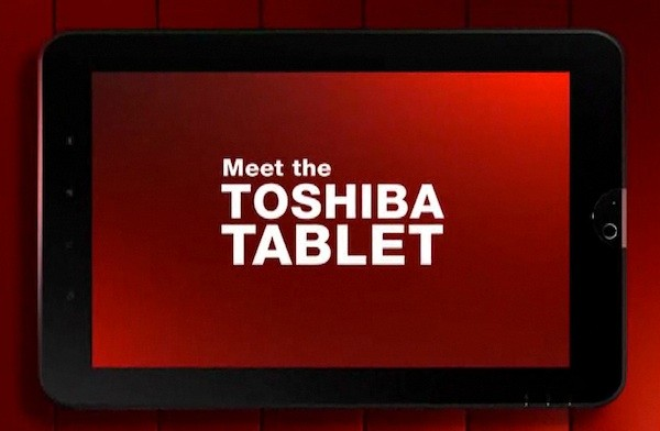 Toshiba Launches Flashy Tablet