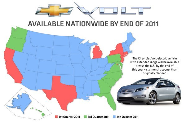 Chevrolet rolling out Volt nationwide by end of year, everybody gets a plug-in