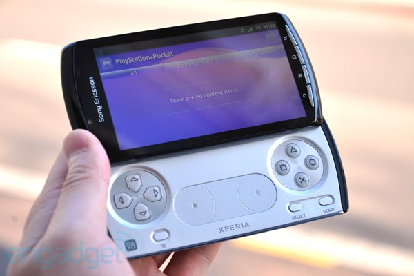 Sony Ericsson Xperia Play hands On