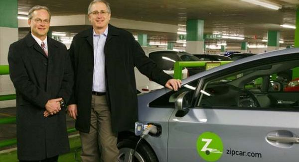 Zipcar adds plug-in Prius to its fleet, probably not changing name to Zapcar