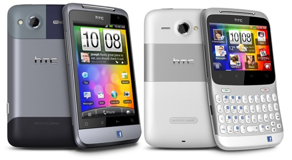 HTC Salsa and Chacha Equipped with Dedicated Facebook Button