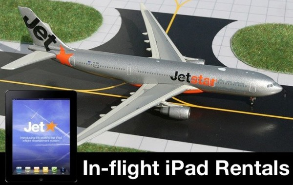 Australia Jetstar Airways to Include iPads on Every Flight