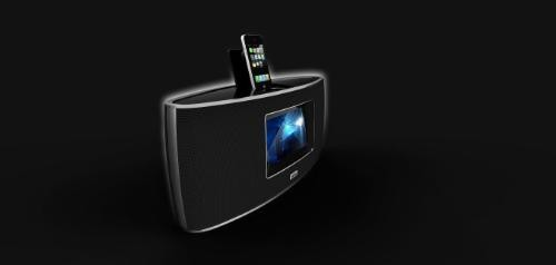 AuraSound Sound Station is the audiophile-grade iPod dock for your audiophile-grade bedstand