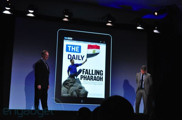 The Daily iPad event