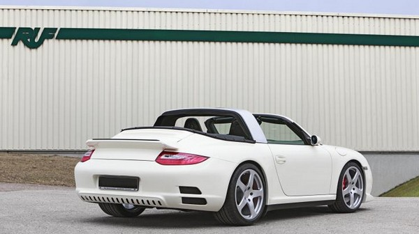 Elite Porsche tuner RUF gets in on the electric game with three eRUF models
