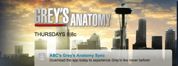 ABC's Sync iPad app is getting revived for Grey's Anatomy (update)