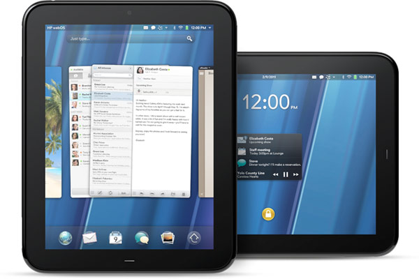 HP's 9.7-inch TouchPad: webOS 3.0 tablet with 1.2GHz dual-core