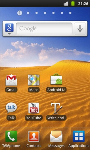 Android 2.3.2 Gingerbr...