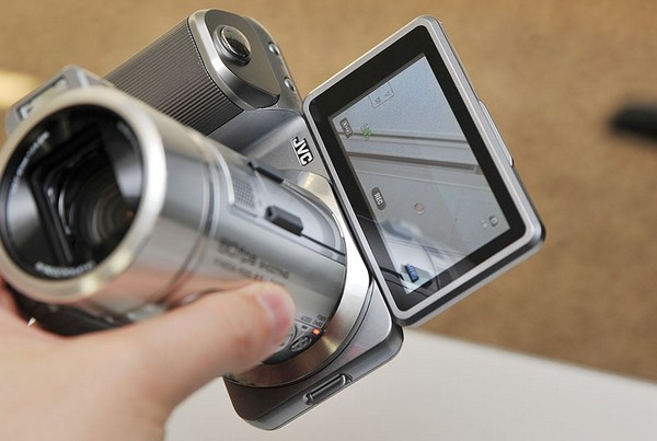 JVC GC-PX1 can't decide if it's a camera or camcorder, does 1080p60 video and 10.6 megapixel stills