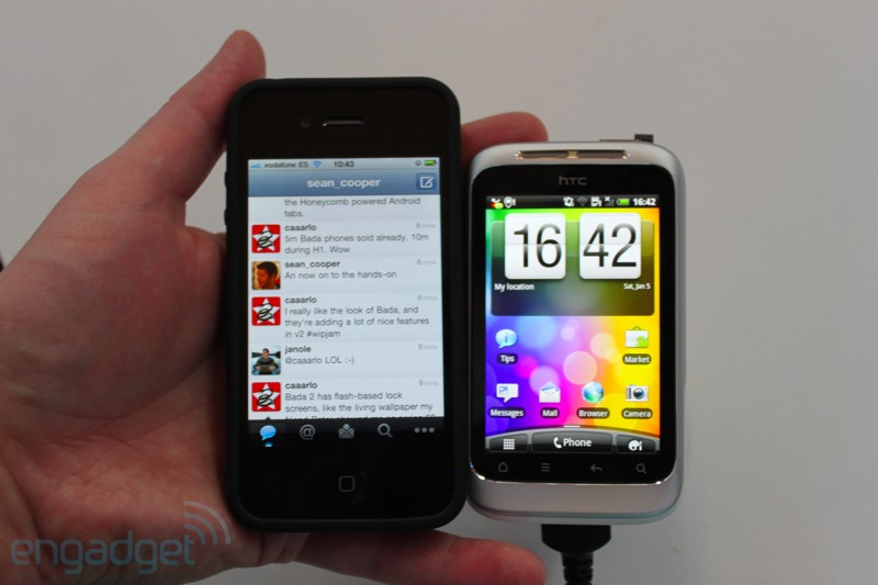 HTC Wildfire S first hands-on