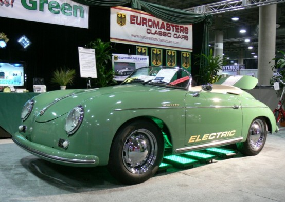 Euromasters electric classic Porsches let you be a rebel without a gas tank