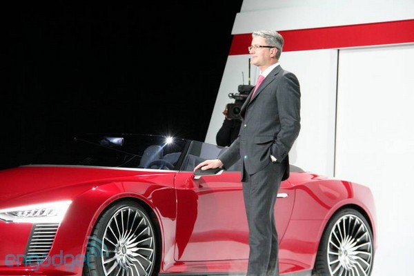 Audi CEO Ruper Stadler taking his time with EV development, refuses to feel