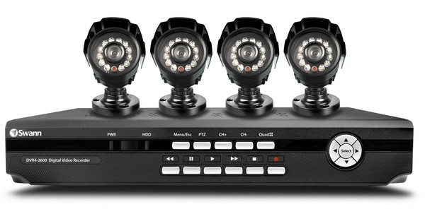 Swann DVR4-2600 kit is four cameras worth of remotely-accessible home security overkill