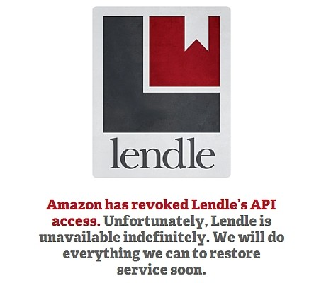 3 22 11 lendle 600 Amazon block Lendle eBook Sharing Service