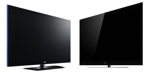 Sony and LG 3D HDTVs