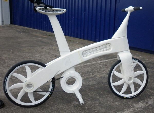 3d printer lets you design, print and ride your own bicycle and components
