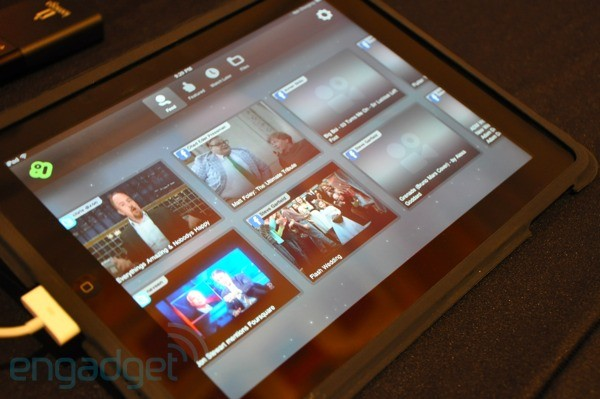 Boxee Box iPad app