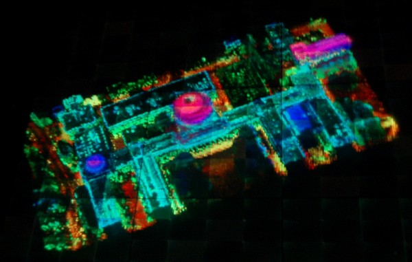 DARPA's Urban Photonic Sandtable Display enables 3D battlefield planning without goofy glasses