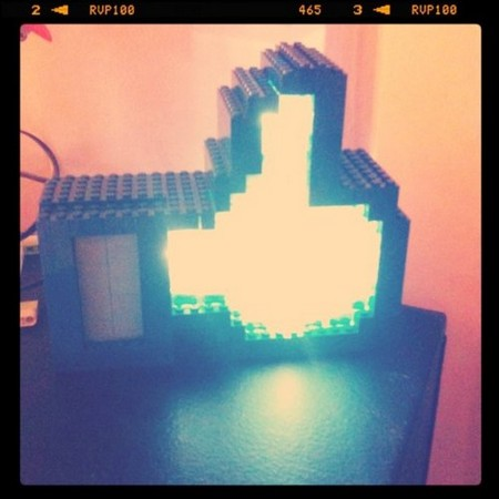 Likelight lights up your likes with Legos, Arduino