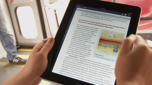 Major publishers signing on with Inkling to bring up to 100 textbooks to iPad by 2012