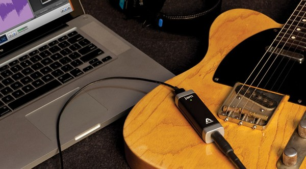Jam guitar input for Mac and iOS devices gets your axe into GarageBand easy
