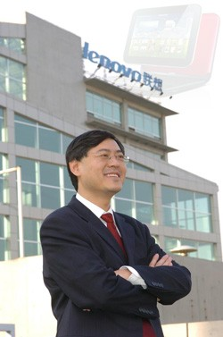 Lenovo CEO spreads the wealth