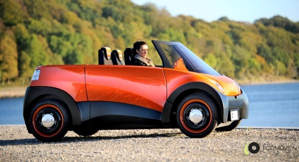 ECOmove QBEAK EV unveiled, grows a roof but no actutal beak