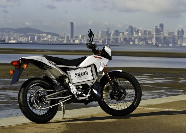 Zero XU electric motorcycle makes in-apartment EV charging a reality