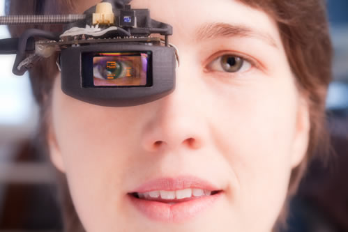 Fraunhofer IPMS Eye-Tracking Display