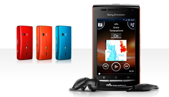 Sony Ericsson W8