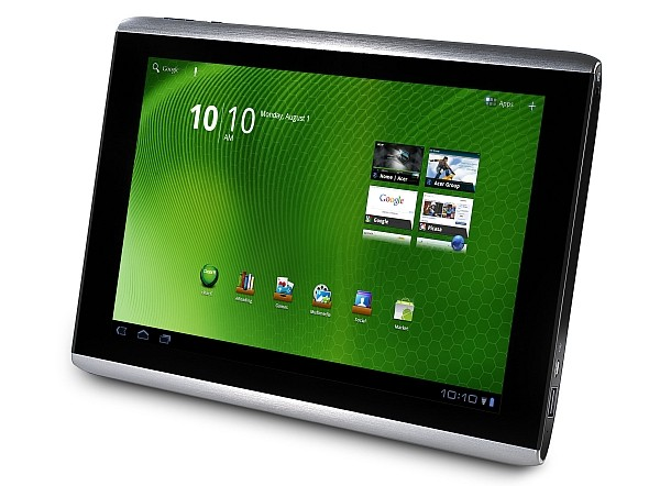 The Acer Iconia Tablet