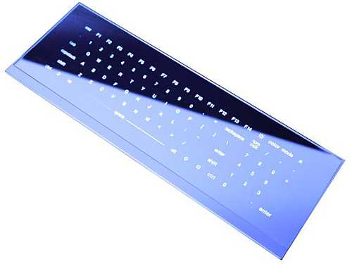 Cool Leaf Keyboard S Shiny Buttonless Future Gets Release