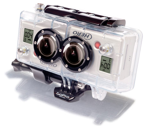 Gopro ships 99 3d hero expansion kit acquires cineform in its spare time - Spare time gadgets ...