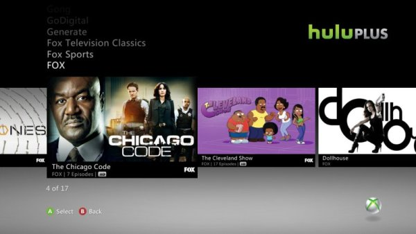 huluplusxbox36008600 Hulu Plus on 360 launches tomorrow