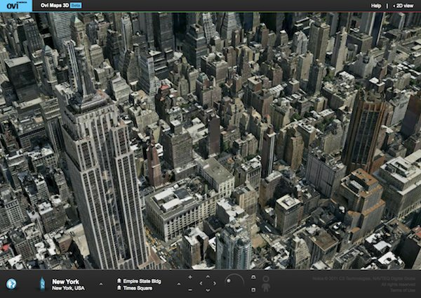 Nokia launches Ovi Maps 3D beta, challenges Google Earth ...