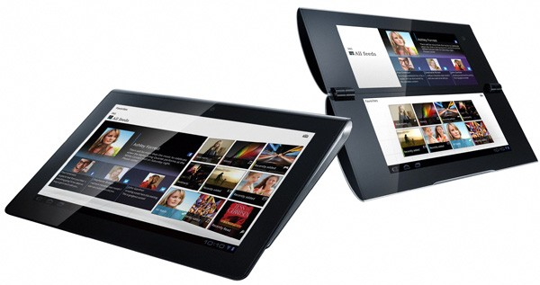 Sony S1 and S2 dual-screen Honeycomb tablets get official (video)