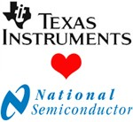 National Semiconductor TI <3 é