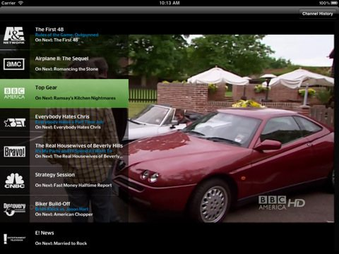 TWC TV iPad
