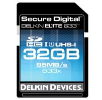 Delkin Elite 633 Claims to be the Fastest SDHC Card